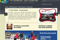 Homepage Provedor